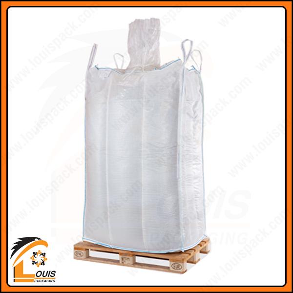 Bao jumbo chống phình là loại bao có khả năng giữ nguyên hình dáng vuông vắn sau khi đóng hàng