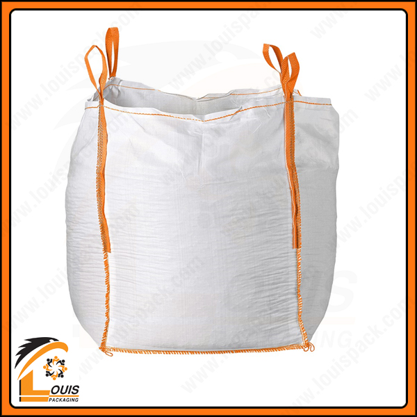 Bao jumbo thường được may quai elip với chiều dài đai may dọc đến 2/3 thân bao