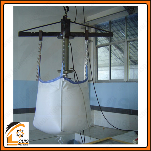 Thiết kế nắp và đáy bao jumbo sẽ phụ thuộc theo cách thức đóng và xả hàng của Khách Hàng