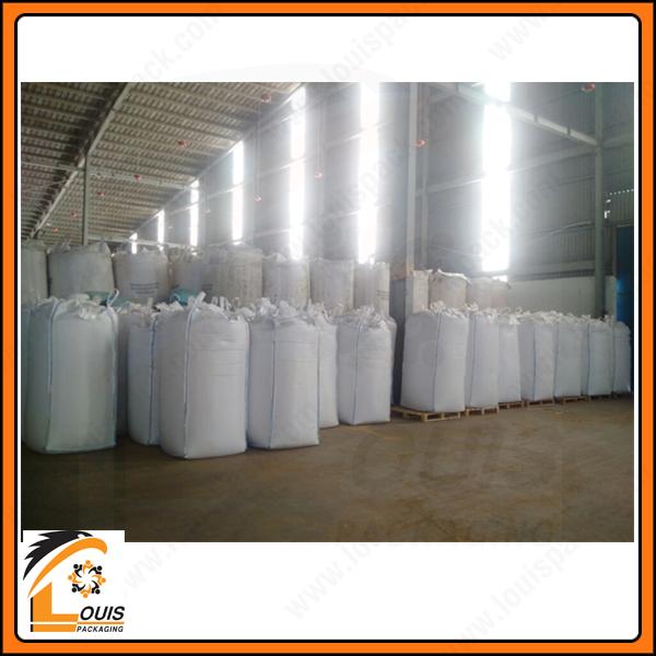 Bao jumbo 90 x 90 x 190cm đựng 1 tấn bột xương thịt, nguyên liệu sản xuất thức ăn gia súc