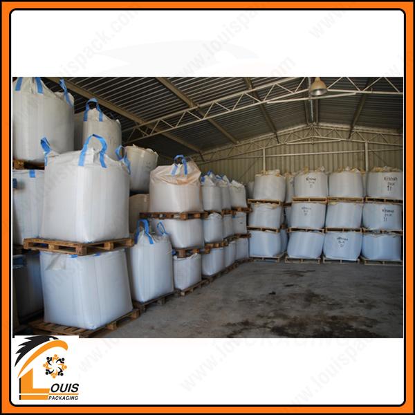Đối với những hàng hóa lưu kho không đòi hỏi chất lượng cao thì sử dụng bao jumbo cũ giúp tiết kiệm chi phí lớn cho Khách Hàng.