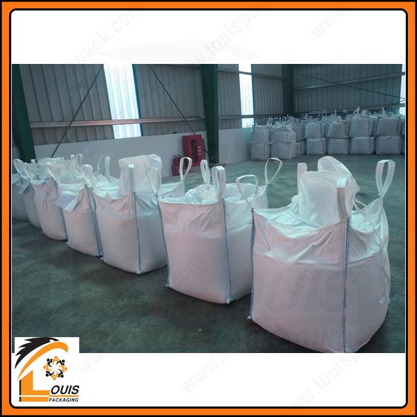 Bao jumbo đựng 1 tấn cát đã qua chế biến kích thước 70cm x 70cm x 80cm