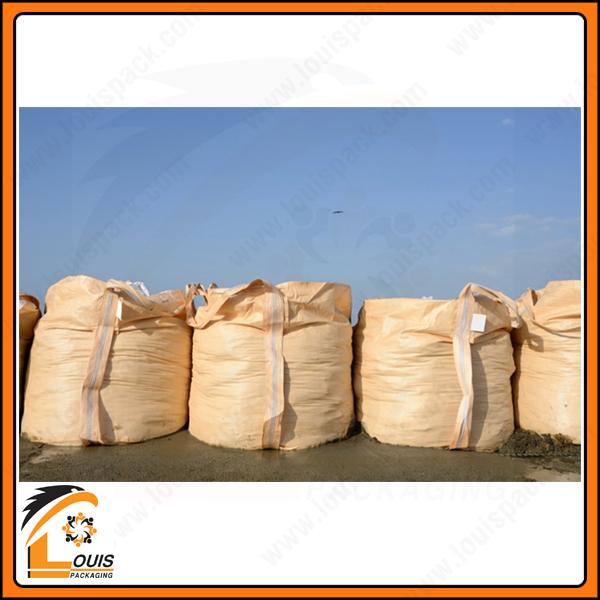 Bao jumbo đựng cát sử dụng trong công trình xây dựng