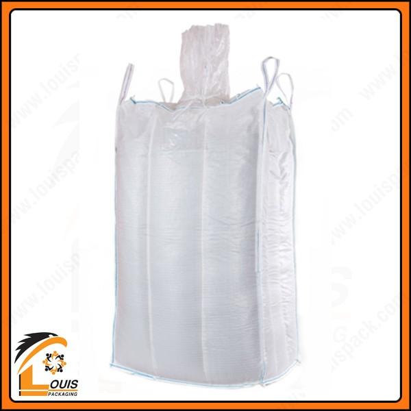 Bao jumbo đựng hạt nhưa 500kg, 700kg, 1000kg là giải pháp bao jumbo phổ biến trong ngành nhựa.