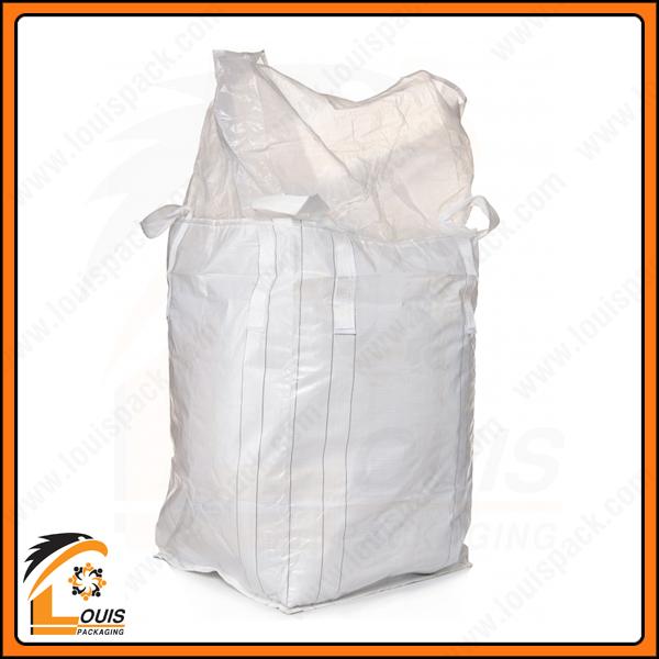 Bao jumbo nắp trùm đáy đóng là kiểu dáng bao chuyên dụng đựng bắp ủ chua
