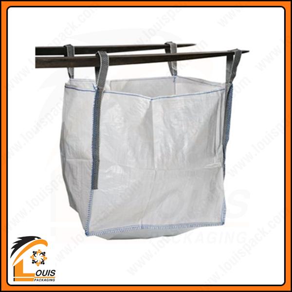 Bao jumbo đưng 1 tấn xỉ titan ống nạp đáy xả chất lượng cao