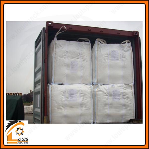 Bao jumbo vách ngăn chống phình có kích thước lý tưởng để đóng container là 105 x 105 x 110cm