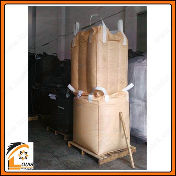 Sự khác biệt sau khi đóng hàng của bao jumbo vách ngăn chống phình và bao jumbo thông thường