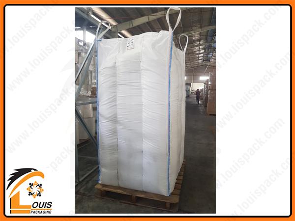 Bao jumbo chống phình là loại bao jumbo cao cấp thường dùng cho sản phẩm dạng hạt, bột